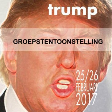 Dump Trump Tentoonstelling