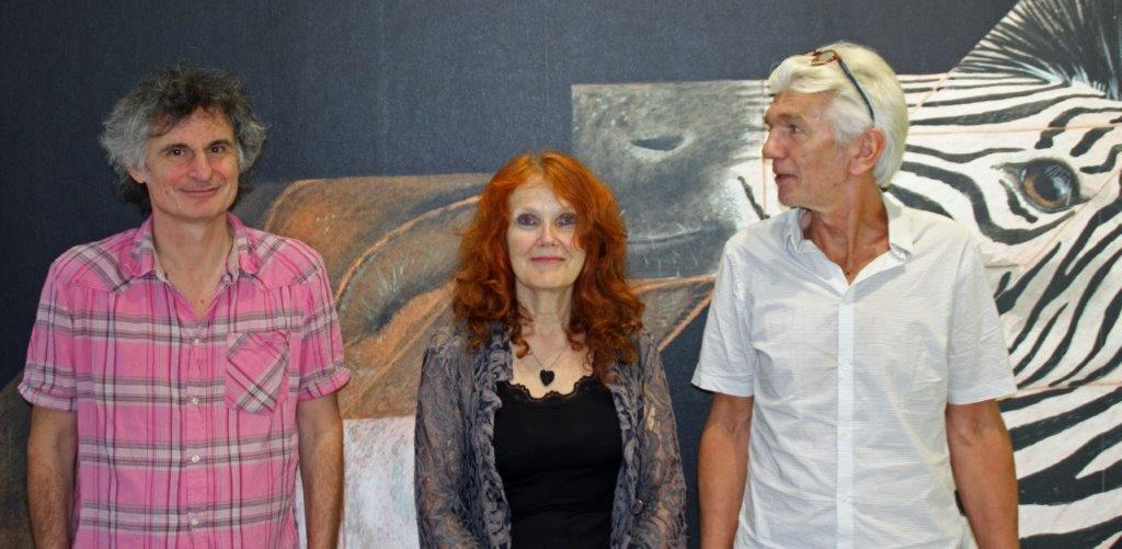 Rozé van Leemput, Alexandra Timmer, David de Visser foto Joost Overhoff
